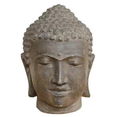 Buddha Kopf, Lavaguß