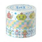 3er-Set Masking Tape 'Toy Robot'