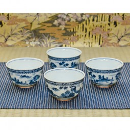 4er Set Teeschale - Fujiyama