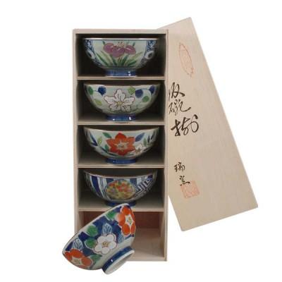 5er-Set Reisschalen - Hanamanyo im Regal