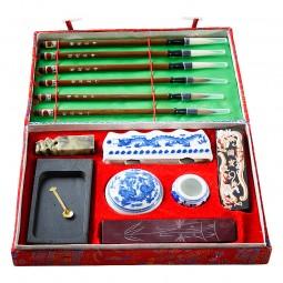 Großes chinesisches Kalligrafie-Schreibset
