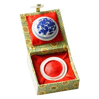 Chinesische Siegelpaste - Keramikschale