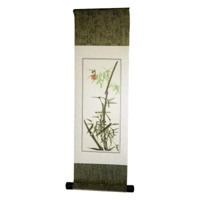 Rollbild Bambus - 19 cm Breite