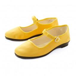 Chinaschuhe Baumwolle - Gelb