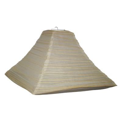 Papierlampe Pyramide
