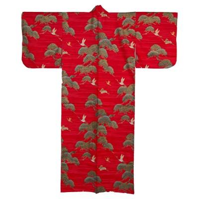 Kimono für Damen - Kiefer und Kranich