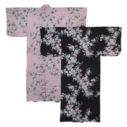 Kimono für Damen - Weiße Kirschblüten