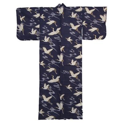Kimono für Damen - Weißer Kranich