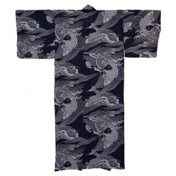 Kimono für Herren - Karpfen