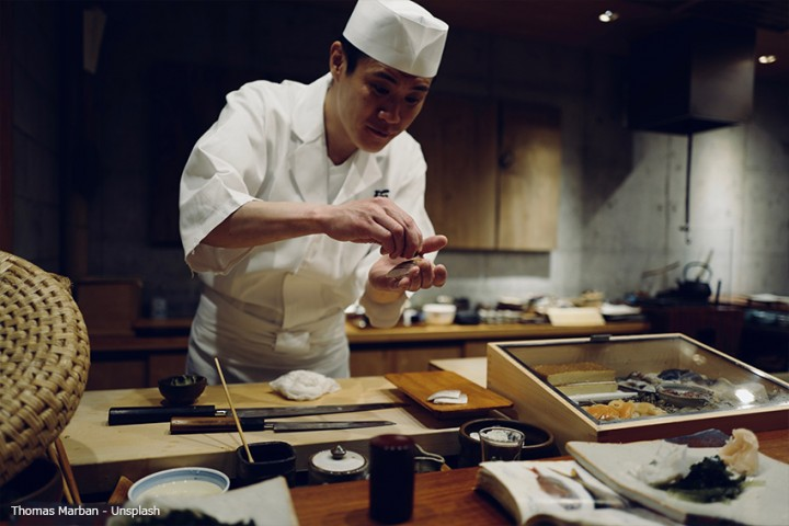 Fugu – japanisch Essen mit Nervenkitzel: Delikatesse Kugelfisch
