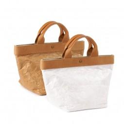 Kraftpapier-Tasche Henkeltasche