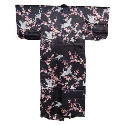Seiden Kimono für Damen - Ume to Tsuru