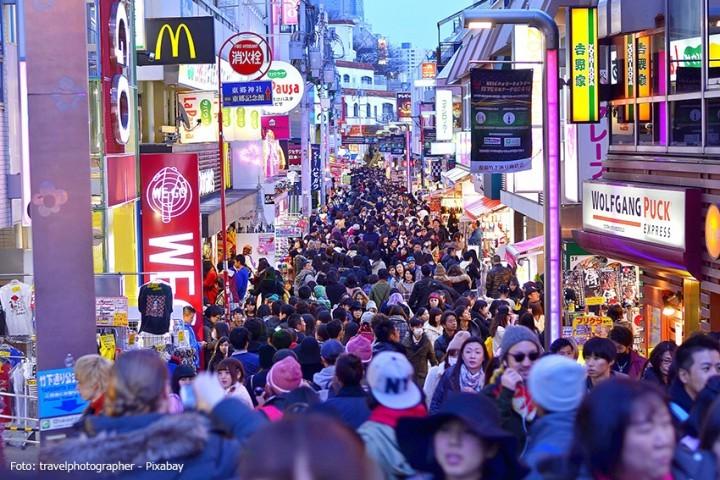 Overtourism - Sorge wegen zu vieler Touristen in Japan