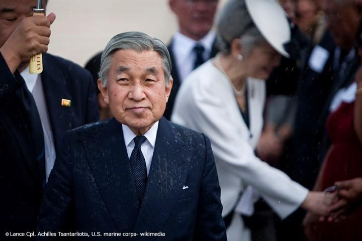 Abdankung naht - Kaiser Akihito zeigt sich letztmalig dem Volk