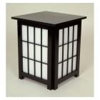 Andon end table schwarz 40x40 H=49cm