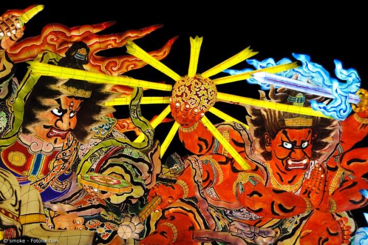 Japanische Sommerfeste sind das Highlight der Jahreszeit