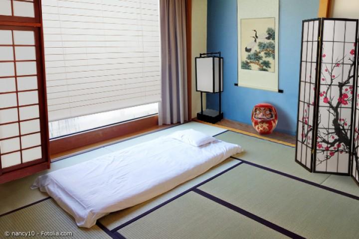 Japanisches Schlafzimmer Massivholzschlafzimmer Mit Japanischer ...