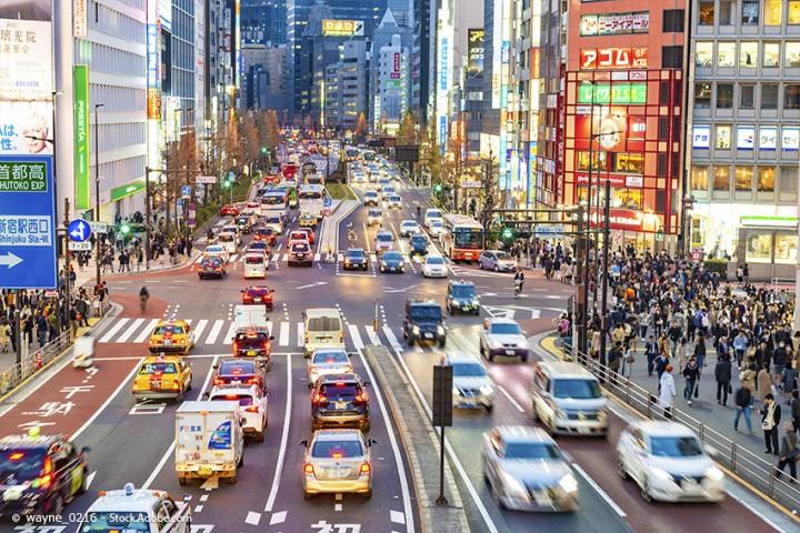 Straßenverkehr in Japan – was man beim Autofahren beachten sollte