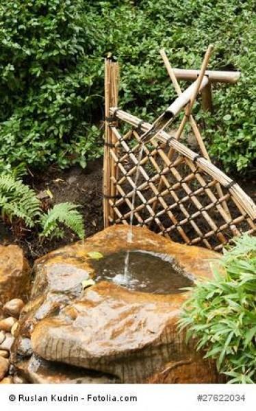 Bambuszäune runden den eigenen Garten stilvoll ab