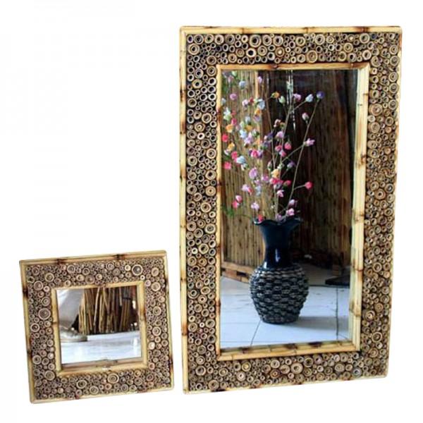 bambusspiegel natur spiegel dekorieren japanwelt. Black Bedroom Furniture Sets. Home Design Ideas