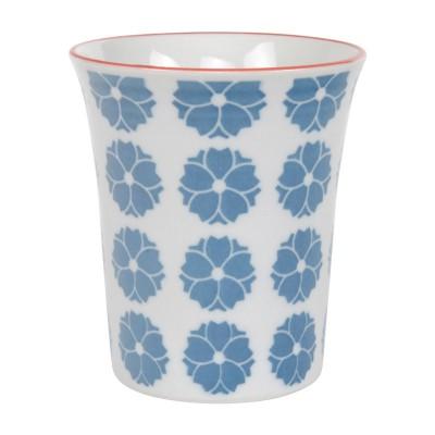 Becher 'Nanairo - Hakkakushokko blau' 8,2x9,3cm