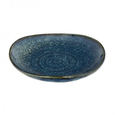 Beilagenteller 'Kobaltblau' 9,7cm viereckig