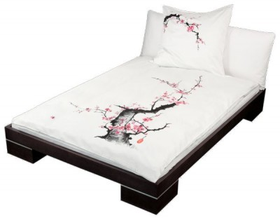 bettw sche pflaumenbl te japan bettw sche japanwelt. Black Bedroom Furniture Sets. Home Design Ideas
