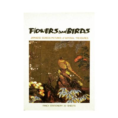 Briefblock - Blumen & Vögel