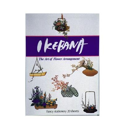 Briefblock - Ikebana