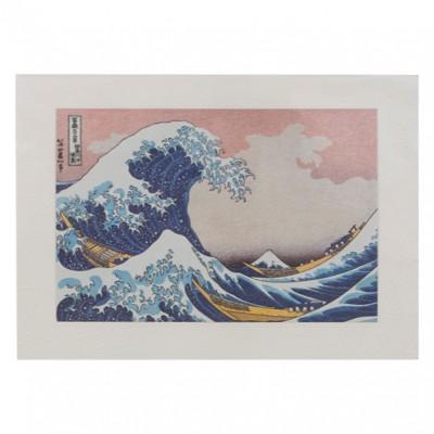 Briefkarte Hokusai