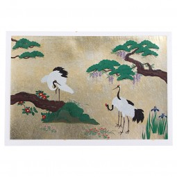 Briefkarte Tsuru Fuji