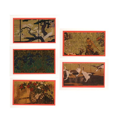 Briefkarten - Byobu