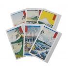Briefkarten - Kuvert Fuji