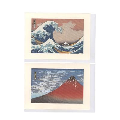 Briefkarten - Ukiyo-E