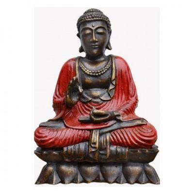Buddha auf Lotussitz