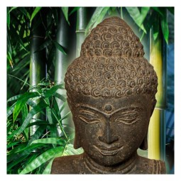 Buddha Büste, Lavaguß
