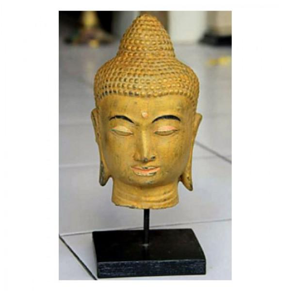 buddha maske figuren skulpturen garten japanwelt. Black Bedroom Furniture Sets. Home Design Ideas