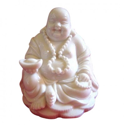 Buddha sitzend aus Porzellan II