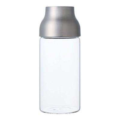 CAPSULE Wasserkaraffe aus rostfreiem Stahl