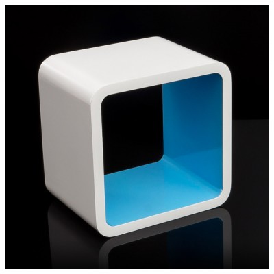 Cube Retro Design Wandregal quadratisch