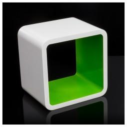 Cube Retro Design Wandregal quadratisch