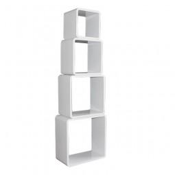 Cube Wandregal 4er Set - Quadratisch