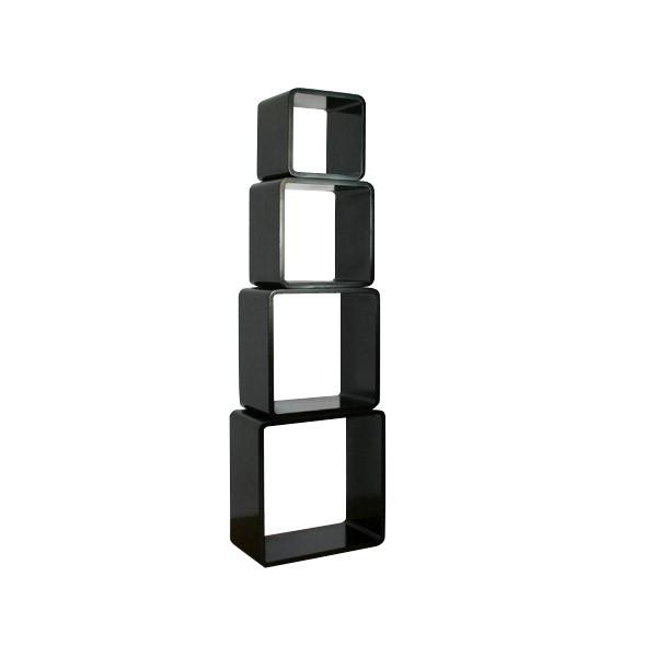 cube wandregal set quadratisch regale wohnen japanwelt. Black Bedroom Furniture Sets. Home Design Ideas
