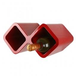 Cube Weinregal für zwei Flaschen