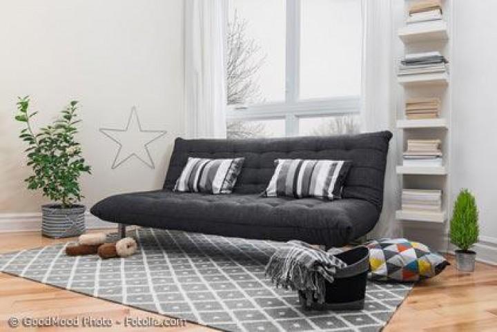 Das Futon-Sofa – eine reizvolle Abwandlung des klassischen Futonbetts