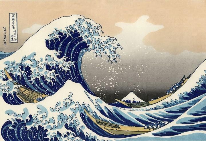 Die große Welle vor Kanagawa – eines der berühmtesten Kunstwerke Japans