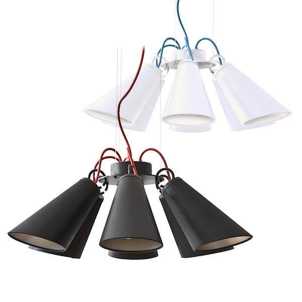 domus pendelleuchte pit 6 metall deckenlampen. Black Bedroom Furniture Sets. Home Design Ideas