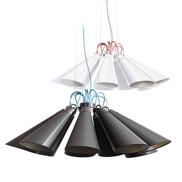 domus pendelleuchte pit 9 metall deckenlampen. Black Bedroom Furniture Sets. Home Design Ideas