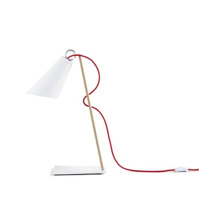 domus tischleuchte pit metall wei tisch stehlampen asiatische lampen wohnen japanwelt. Black Bedroom Furniture Sets. Home Design Ideas