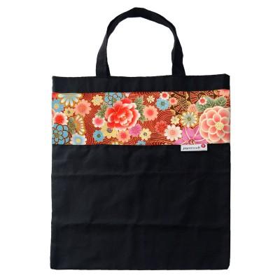Einkaufstasche Japanwelt Blumenwagen